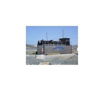 BIODISK Big John - Wastewater Treatment Plant