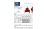 Model 600GD / 600AD - Dual Chamber - Reduced Port Basic Valves - Brochure