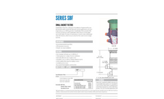 Series SBF Small Basket Filter Specification Sheet