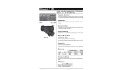 Model 11M - Cast Iron Screwed and Y Strainer Brochure