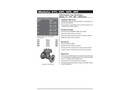 Model 41T - Fabricated Tee Strainers - Brochure