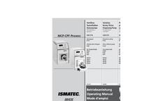 Reglo - Model CPF Analog - Rotary Piston Pump - Brochure
