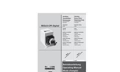Reglo - Model CPF Digital - Compact Dispensing Pump - Brochure