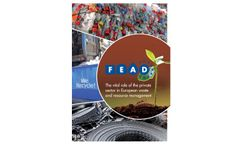 FEAD brochure on The Vital Role of the Private Sector in European Waste and Resource Management, 2014