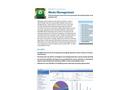 Waste Management Product Sheet