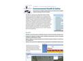 Environmental Health & Safety Product Sheet