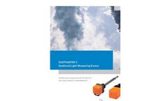 Dusthunter - Model S-series - Scattered Light Dust Monitor Brochure