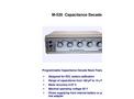 Model M520 - Programmable Capacitance Decade Brochure