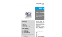 LMP 331i Stainless Steel Sensor for Laboratory, Environmental Industry - Datasheet