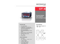 CIT 300 Process Display 96 x 48 mm with Contacts and Analog Output - Datasheet