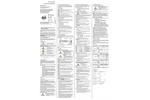 Industrial Pressure Transmitter - Operating Manual