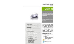 Model DMK 457 - Industrial Pressure Transmitter for Shipbuilding and Offshore - Datasheet