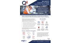 Engica - Version Q4 - Work Control Software Brochure