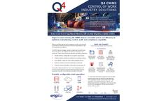 Engica - Version Q4 - Plant Maintenance Software (EAM) Brochure