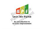 Lean Six Sigma Course Brochure