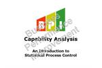 Capability Analysis Course Brochure