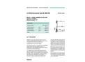 Blobel - Type BL/BED-KB - Retention Barrier - Brochure