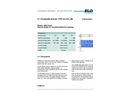 Blobel - Type BL/HTL-SB - Floodwater Barrier - Brochure