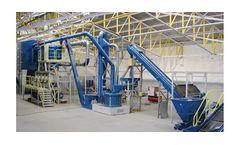 Model SRT 2 - Delamination and Separation Plant