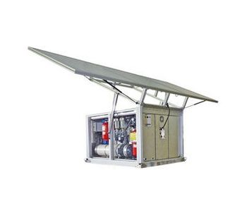 Model TWS 300 - Mobile Solar Powered Water Treatment System