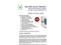 F&J - Model GAS-EDL-300WE - Elite Digital Light (EDL) Global Air Sampling System (200 - 240 VAC) - Brochure
