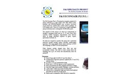 F&J Econoair - Model L-5P - Personal Air Sampling Pump - Brochure