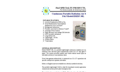 F&J - Model RMDF-30L - Continuous Portable Radiation Air Monitor - Brochure