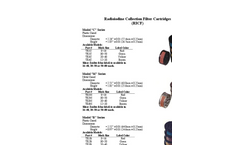 F&J - Radioiodine Collection Cartridges - Brochure