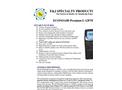 F&J ECONOAIR - Model L-12PTR - Premium Personal Air Sampler - Brochure