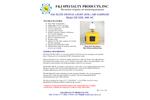 F&J - Model DF-EDL-400-AC - Elite Digital Light (EDL) Air Sampler - Brochure