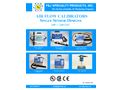 F&J - Air Flow Calibrators - Single Sensor Designs - 100 — 240 VAC - Brochure