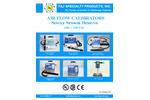 F&J - Air Flow Calibrators - Single Sensor Designs - 100 — 240 VAC - Brochure
