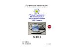 F&J - World Calibrator PC Interfaceable Multi-Sensor Series VFD Version - Brochure