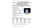F&J - Compact Digital Air Flow Calibrator for Air Samplers - Brochure