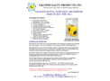 F&J - Model DF-EDL-500E-Li - ELITE DIGITAL LIGHT Air Sampler (200 – 240VAC) - Brochure