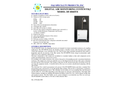 F&J - Model DF-804DTE - Digital Air Monitoring System (200 – 240 VAC) - Brochure