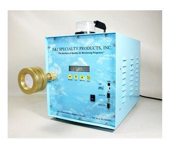 F&J - Model GAS-EDL-300WE - Elite Digital Light (EDL) Global Air Sampling System (200 - 240 VAC)