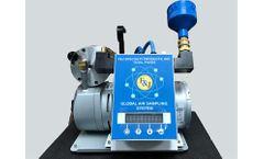 F&J - Model GAS-1E - Global Low Volume Air Sampler (200 - 240 VAC)