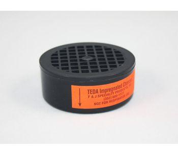F&J - Model TE1C - TEDA Impregnated Charcoal Filter