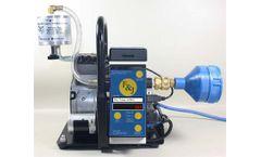F&J - Model DF-118-RP - Portable Digital Flow Meter Air Sampler (100 - 120 VAC)