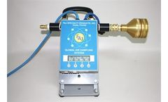 F&J - Model GAS-100-XX/100E-XX - Portable Inline Flow Monitor For Air Samplers (100-120 & 200-240 VAC)