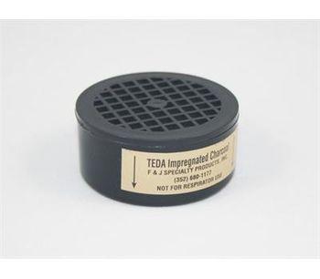 F&J - Model TE4CS - TEDA Impregnated Charcoal Filter