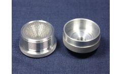 F&J - Model FJ-70AI38 - In-Line Aluminum Particulate Filter Holder