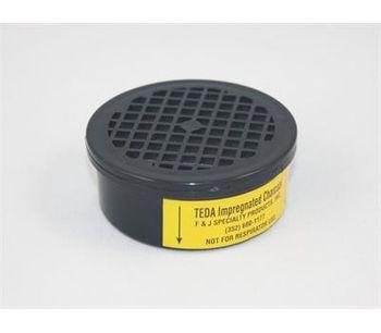 F&J - Model TE3B - TEDA Impregnated Charcoal Filter