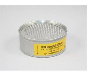 F&J - Model TE3M - TEDA Impregnated Charcoal Filter