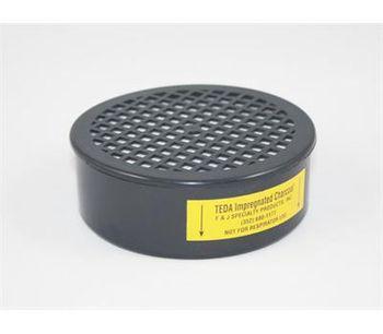 F&J - Model TE33.1 - TEDA Impregnated Charcoal Filter