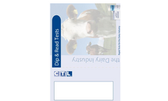 Rapid Tests for Dairy Industry 2016