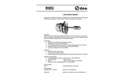 EARL - Model 86 - Level Switch Brochure