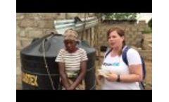 WaterAid Team Mozambique -Day 4 rainwater harvesting in rural communities Video