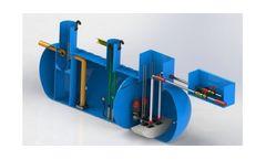 Stormsaver Combined Attenuation Rainwater Harvesting Tank & Pumping Chamber
